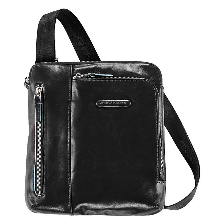 Piquadro Blue Square Crossbody Bag with Ipad Compartment - Black - CA1816B2/N - Jashanmal Home