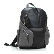 Piquadro Ipad Compartment Backpack - Black - CA2943OS/N