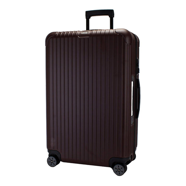 Rimowa Salsa Electronic Tag Luggage Trolley Bag - Matt Carmon Red - 811.70.14.5 RED - Jashanmal Home