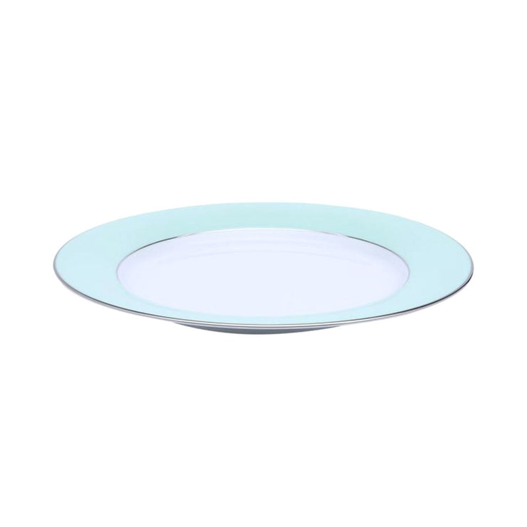 Dankotuwa Meldy Chop Plate - White and Green - MELDYG-0525 - Jashanmal Home