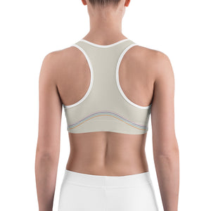 Retro Curve Sports Bra