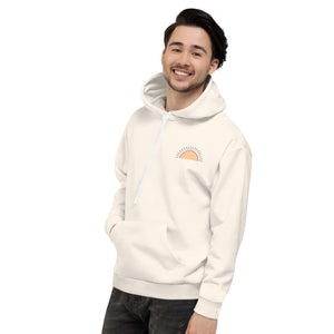 Brighter Days Ahead Beige Hoodie