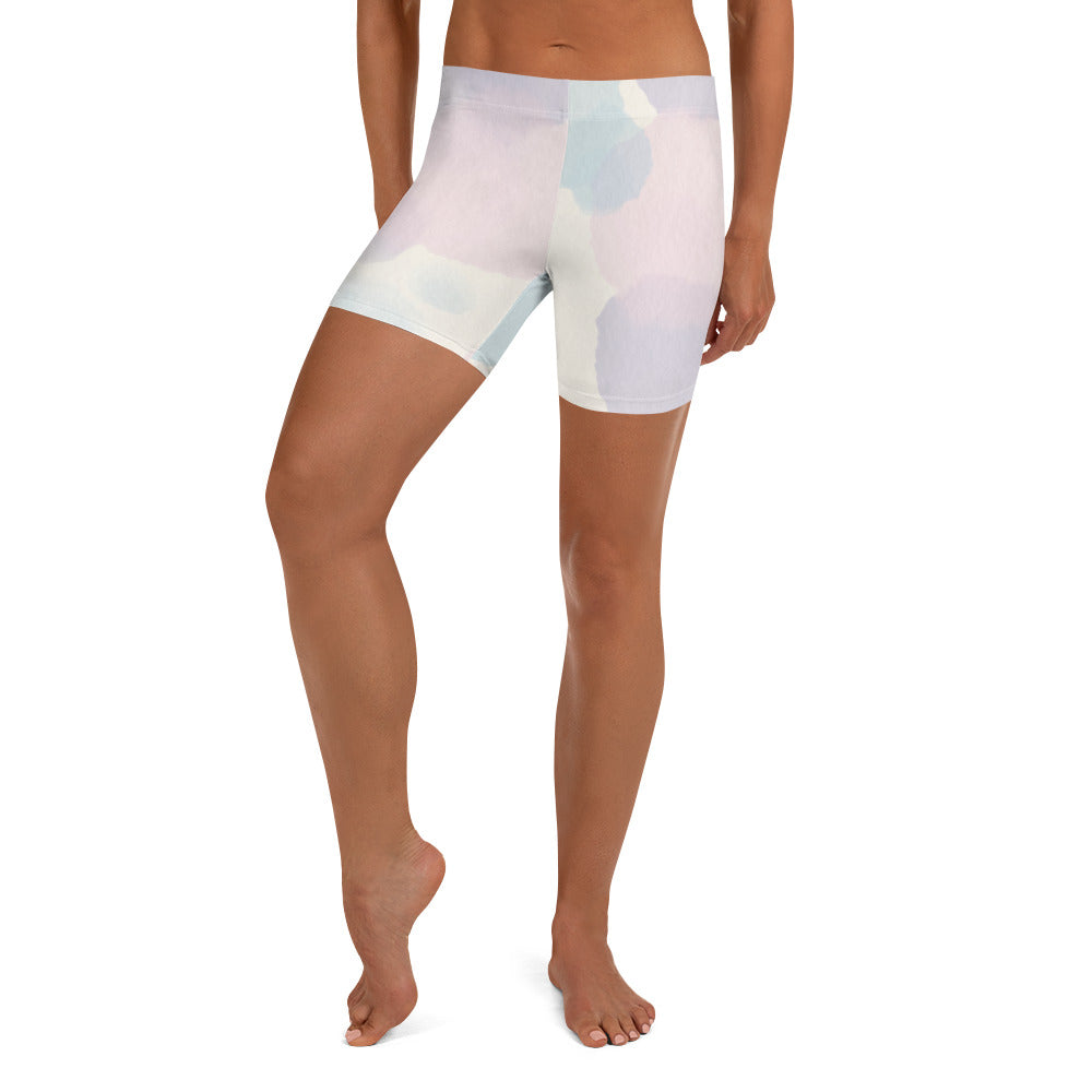 Watercolor Canvas Shorts