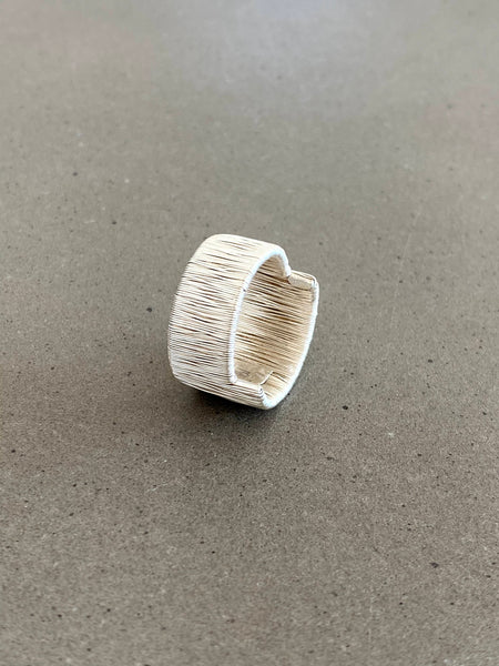 Ordito2019 Ring in silver