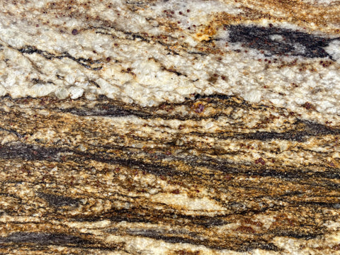 Black Savannah Satin Granite Slab