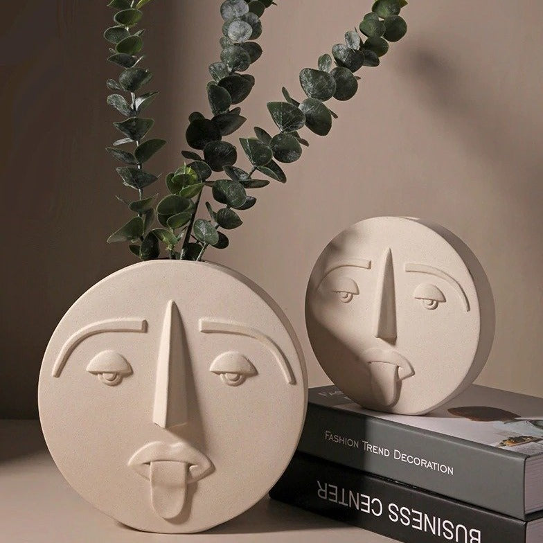 Luna Ceramic Vases - Bargainzar Boho Home Decor Online