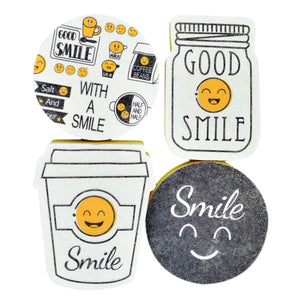 Smiley Sponge Set - Bargainzar Boho Home Decor Online