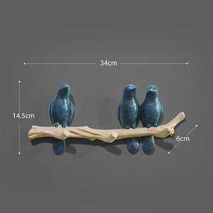 Delightful Dove Wall Hooks - Bargainzar Boho Home Decor Online