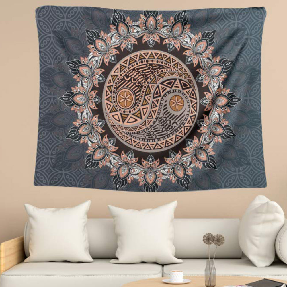 Zendala Wall Tapestry - Bargainzar Boho Home Decor Online