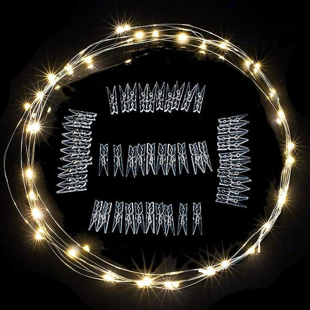 Lightsvibe™ LED Photo Clips String Lights