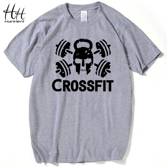 HanHent Weightlifting Men's Crossfit T shirt