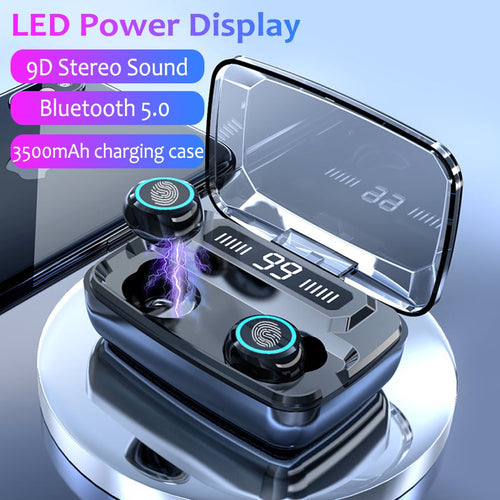 3500mAh LED Bluetooth Wireless Headphones