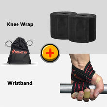 Load image into Gallery viewer, ROEGADYN Professional Weightlifting 2m Elastic Knee Wrap