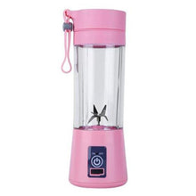 Load image into Gallery viewer, 380ml portable blender with USB charging