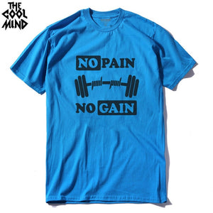 COOLMIND 100% Cotton Men's Training T-shirt