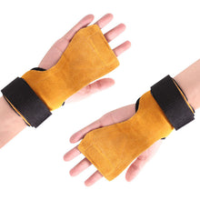 Load image into Gallery viewer, WeightLifting Leather Gloves
