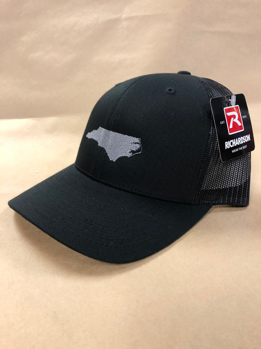 Embroidered State Curved Brim Hat
