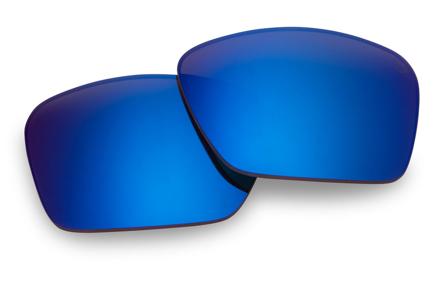 Frazier Replacement Lenses-Happy Bronze Polar W/Dark Blue Spectra Mirror