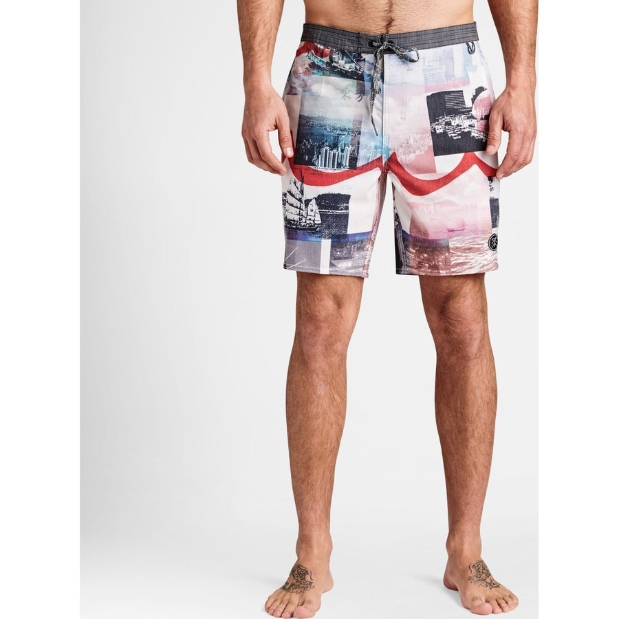 Chiller HK Prints Boardshorts 17""