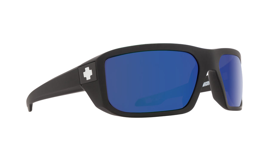 Mccoy Matte Black - HD Plus Bronze Polar with Blue Spectra Mirror
