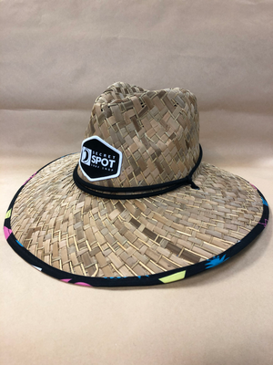 Secret Spot Patch Straw Hat
