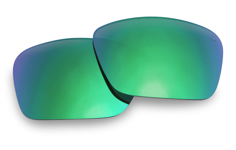 Frazier Replacement Lenses-Happy Bronze Polar W/Green Spectra Mirror