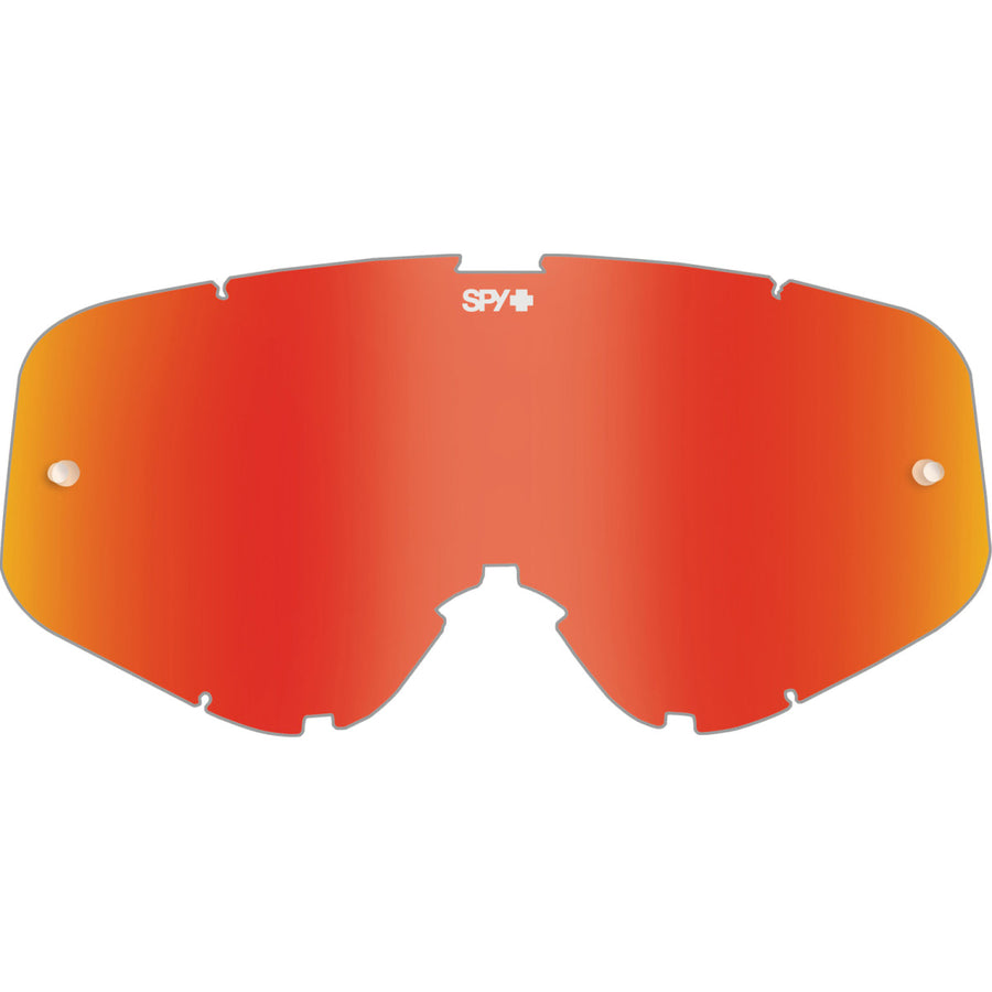 Woot/Woot Race Mx Lens - HD Smoke with Red Spectra Mirror