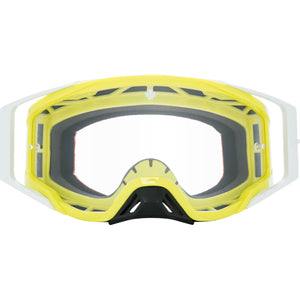 Foundation Checkers Hi-Vis Green - HD Clear