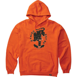 BIG CAT HOODIE BLACK