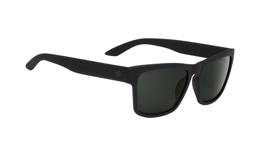 Haight 2 Soft Matte Black - HD Plus Gray Green Polar