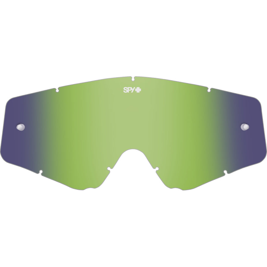 Omen Lens - HD Smoke with Green Spectra Mirror