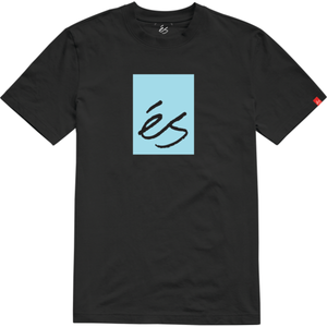 MAIN BLOCK SS TEE BLACK/BLUE