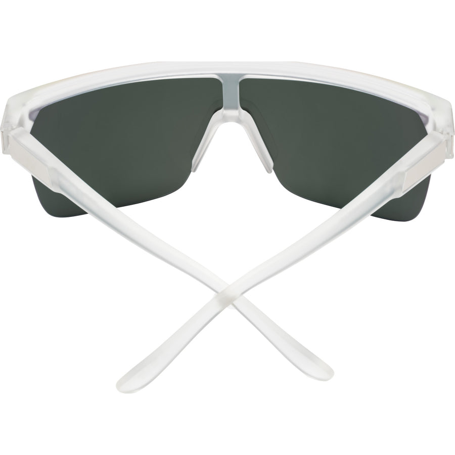 Flynn 5050 Matte Crystal - HD Plus Gray Green with Red Spectra Mirror