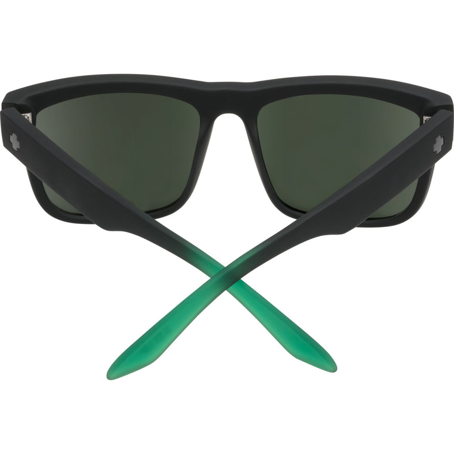 Discord Soft Matte Black Green Fade - HD Plus Gray Green with Green Light Spectra Mirror