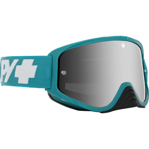 Woot Race Checkers Teal - HD Smoke with Silver Spectra Mirror - HD Clear