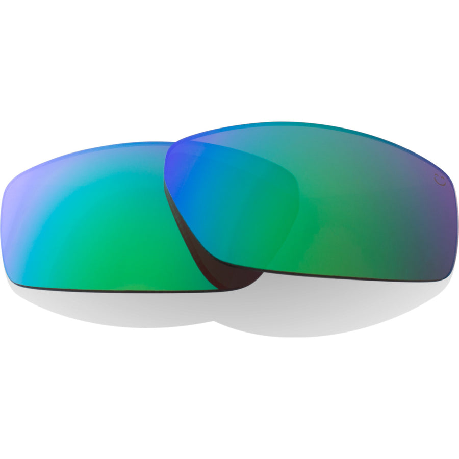 Dirty Mo Replacement Lenses - Happy Bronze Polar W/green Spectra