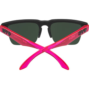 Helm 5050 Soft Matte Black Translucent Pink- HD Plus Gray Green with Pink Spectra Mirror