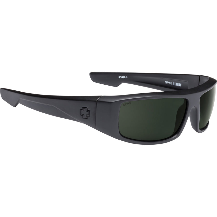 Logan SOSI ANSI RX Matte Black - HD Plus Gray Green