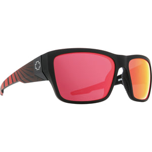 Dirty Mo 2 Matte Black Red Burst-HD Plus Rose Polar with Red Spectra Mirror