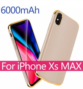 Phone Battery Case for iPhone X XR Xs
