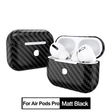 Load image into Gallery viewer, CENMASO Real Carbon Fiber Bluetooth Headset Wireless Earphone Protective Cover for APPLE AirPods 3 Pro 2019 Air Pods 2 1 Case