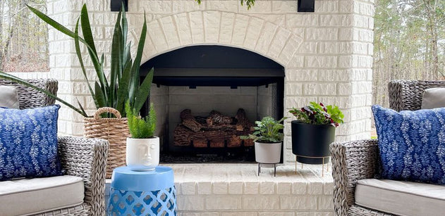 Peaceful Patio Refresh For Spring