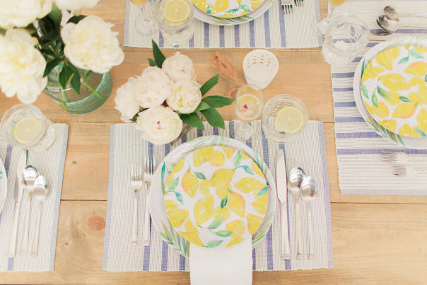 Summer Brunch Tablescape