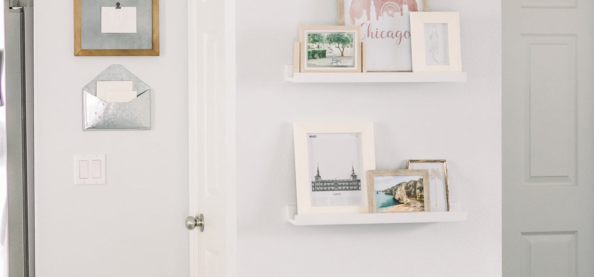 How to Wow Your Walls with a Picture Ledge Display