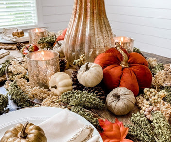 Create a Magazine-Worthy Fall Tablescape for $100