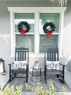 Festive & Fun Christmas Front Porch