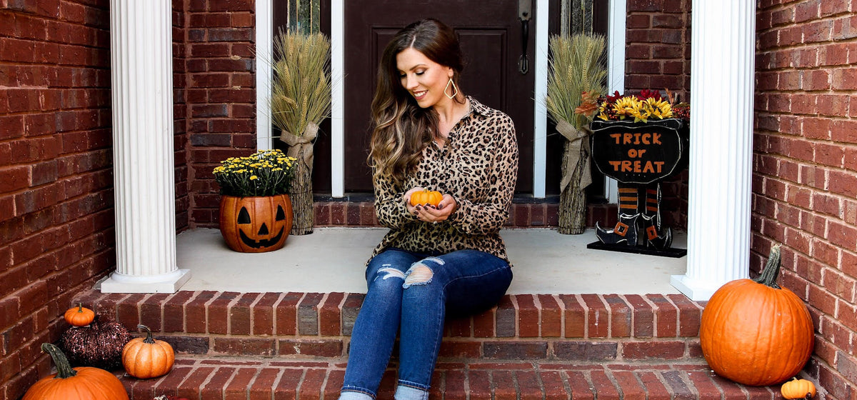 Decorate Your Porch for Fall on a Budget