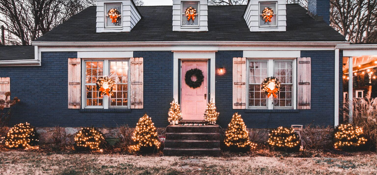 Home Exterior Christmas Decor for Under $150