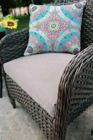 outdoor furniture, cushions, patio refresh