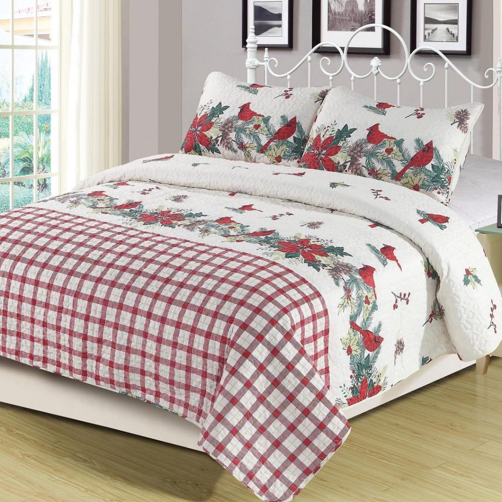 holiday themed bedding
